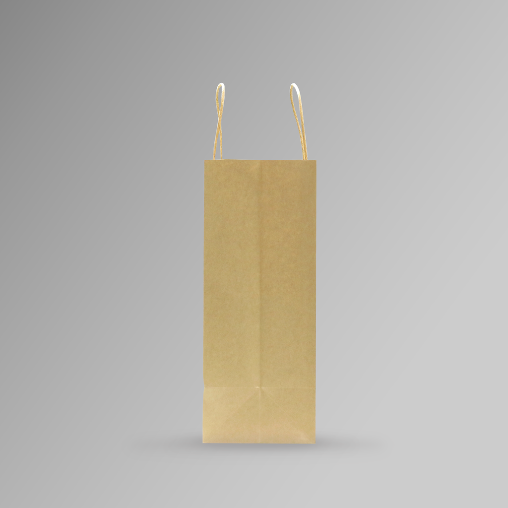 ZDPACK | PAPER BAG BROWN TWISTED HANDLE 28x33x15 cm | 250 Pieces