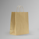 ZDPACK | PAPER BAG BROWN TWISTED HANDLE 30x35x15 cm | 250 Pieces