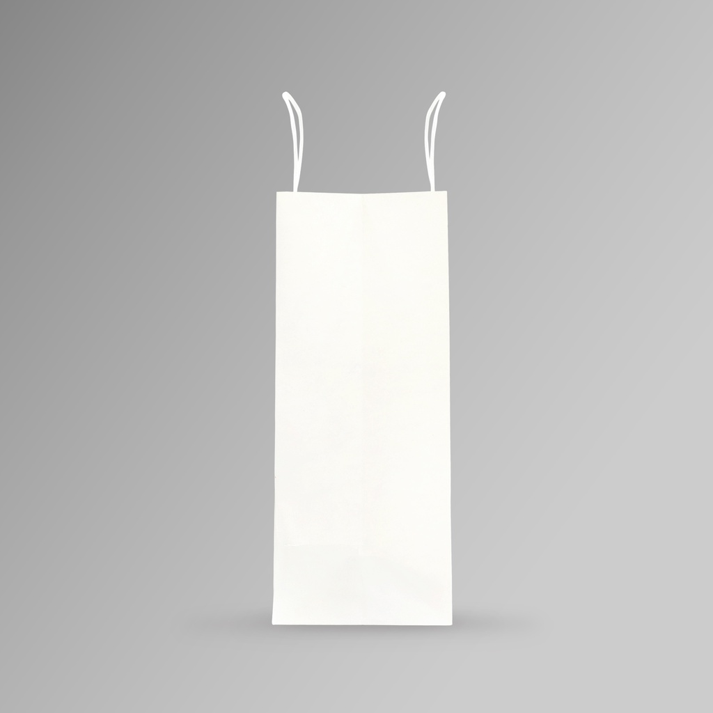 ZDPACK | PAPER BAG WHITE TWISTED HANDLE 33x40x15 cm | 250 Pieces
