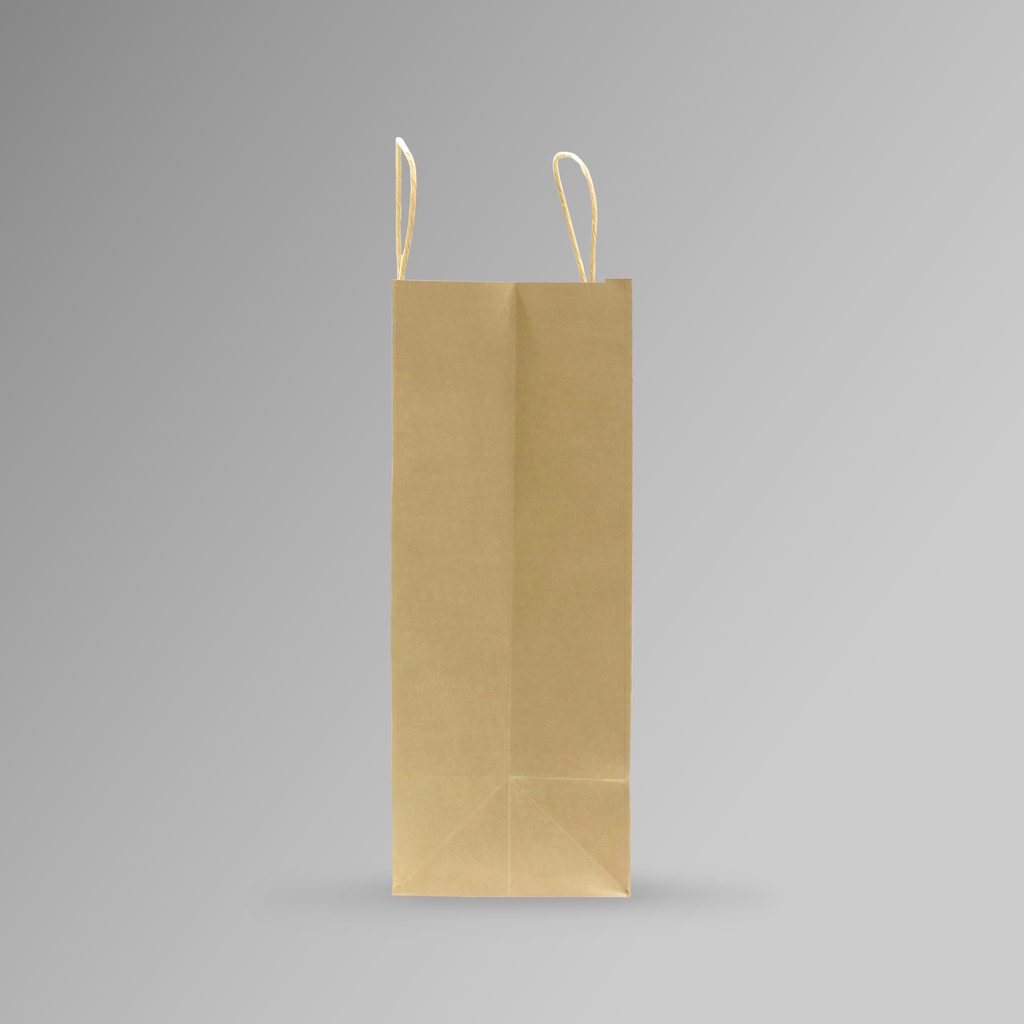 ZDPACK | PAPER BAG BROWN TWISTED HANDLE 40x35x17 cm | 250 Pieces