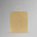 ZDPACK | PAPER BAG WHITE TWISTED HANDLE 33x40x15 cm | 250 Pieces (copy)