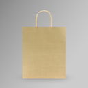 ZDPACK | PAPER BAG BROWN TWISTED HANDLE 23x26x10 cm | 250 Pieces (copy)