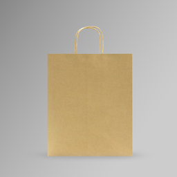 [31x37x17] ZDPACK | PAPER BAG BROWN TWISTED HANDLE 31x37x17 cm | 250 Pieces