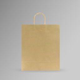 [33x40x15] ZDPACK | PAPER BAG BROWN TWISTED HANDLE 33x40x15 cm | 250 Pieces