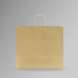 [40x35x17] ZDPACK | PAPER BAG BROWN TWISTED HANDLE 40x35x17 cm | 250 Pieces