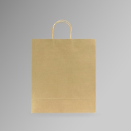 [30.5x37x18] ZDPACK | PAPER BAG BROWN TWISTED HANDLE 30.5x37x18 cm | 250 Pieces