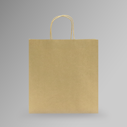 [30x31x14] ZDPACK | PAPER BAG BROWN TWISTED HANDLE 30x31x14 cm | 250 Pieces