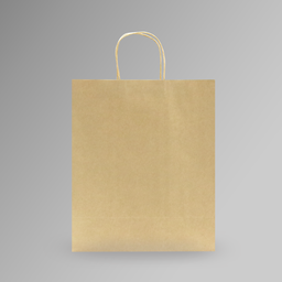 [30x35x15] ZDPACK | PAPER BAG BROWN TWISTED HANDLE 30x35x15 cm | 250 Pieces